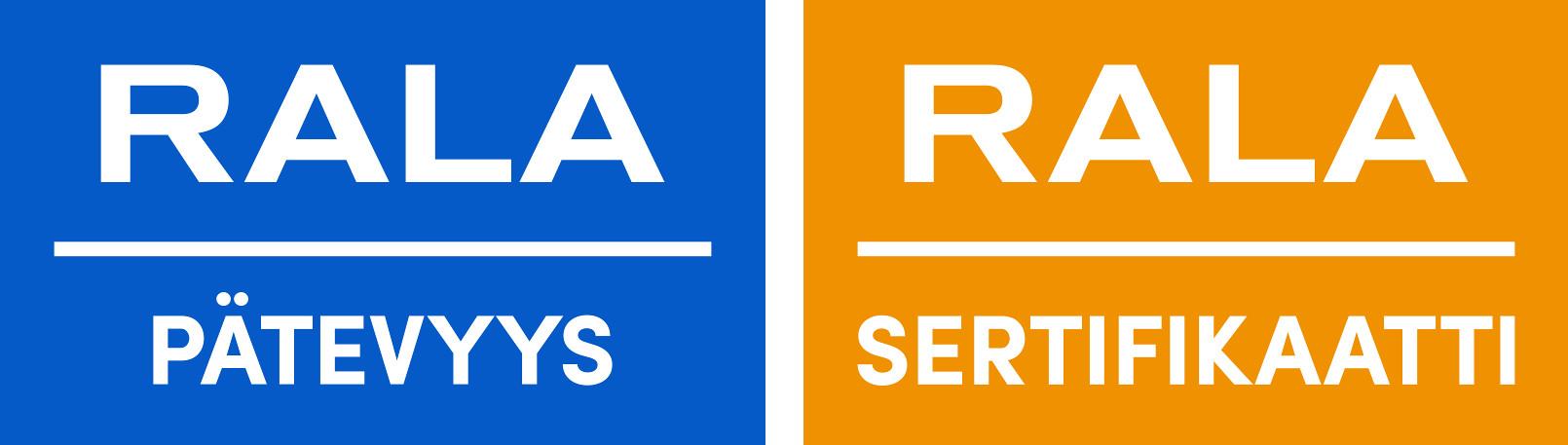 RALA-sertifikaatti ja -pätevyys